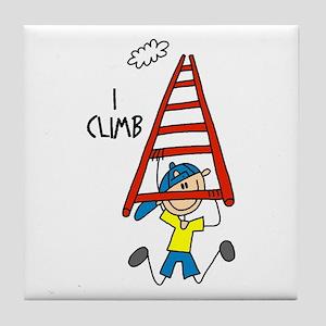 I Climb Tile Coaster