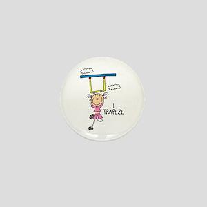 I Trapeze Mini Button