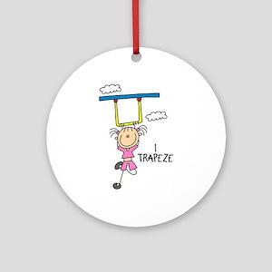 I Trapeze Ornament (Round)