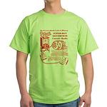 8-Tube Green T-Shirt