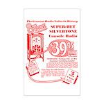 8-Tube Mini Poster Print