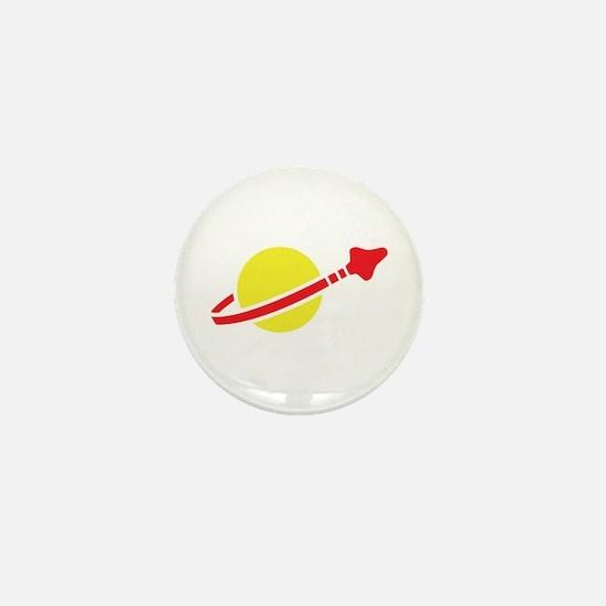 Space Logo Mini Button