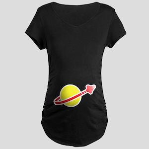 Space Logo Maternity Dark T-Shirt