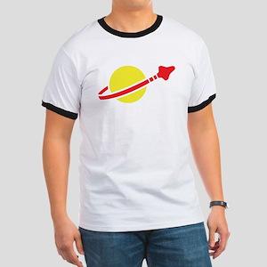 Space Logo Ringer T