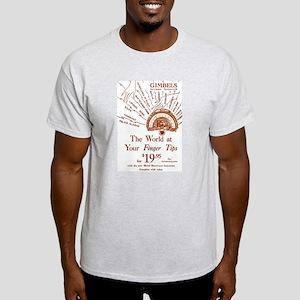 Gimbels Radio Ad Light T-Shirt