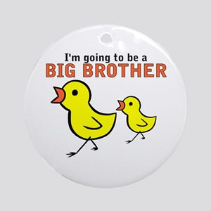 Chicks Big Secret Big Brother Ornament (Round)