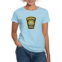 Braintree Police Women's Light T-Shirt