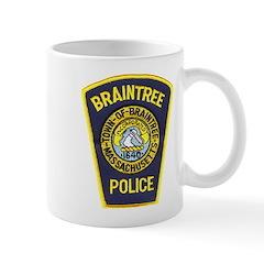 Braintree Police Mug