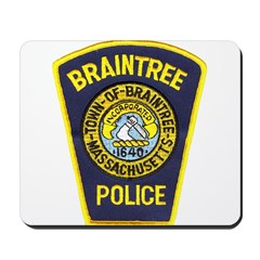 Braintree Police Mousepad