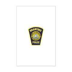 Braintree Police Posters
