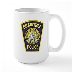 Braintree Police Large Mug