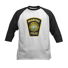Braintree Police Kids Baseball Jersey