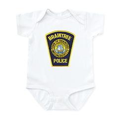 Braintree Police Infant Bodysuit