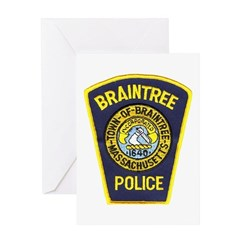 Braintree Police Greeting Card