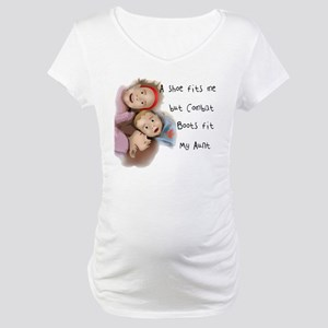 My Aunt's Boots Maternity T-Shirt