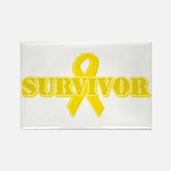 Survivor (Suicide) Rectangle Magnet