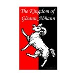 Gleann Abhann Populace Rectangle Sticker 50 pk)