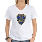 Pleasanton Police Women's V-Neck T-Shirt