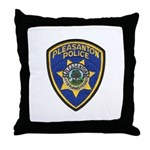 Pleasanton Police Throw Pillow