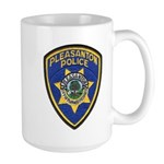 Pleasanton Police Large Mug