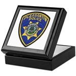 Pleasanton Police Keepsake Box