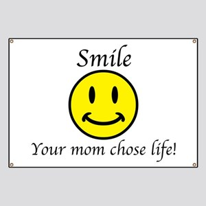 Smile Jesus Banner