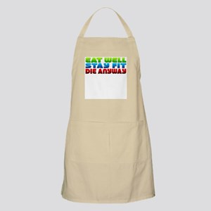Eat Well Stay Fit BBQ Apron