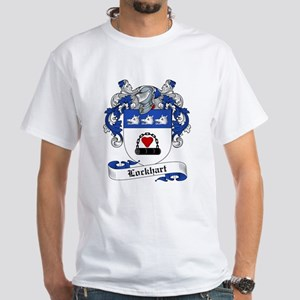 Lockhart Family Crest White T-Shirt