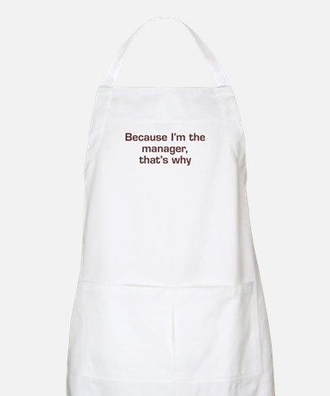 I'm The Manager BBQ Apron