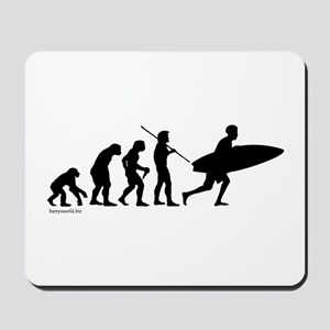 Surfer Evolution Mousepad
