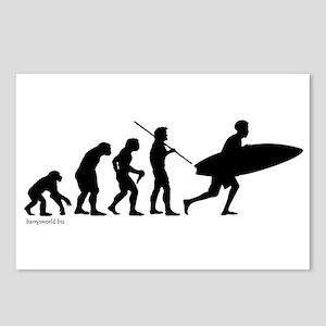 Surfer Evolution Postcards (Package of 8)