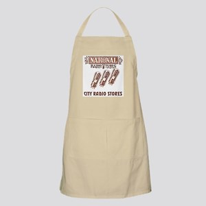 National Radio Tubes BBQ Apron