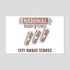 National Radio Tubes Mini Poster Print