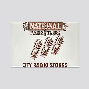 National Radio Tubes Rectangle Magnet