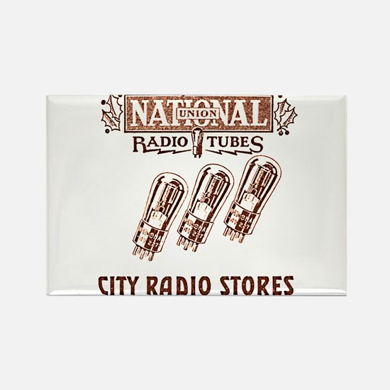 National Radio Tubes Rectangle Magnet