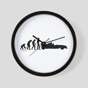 Racer Evolution Wall Clock