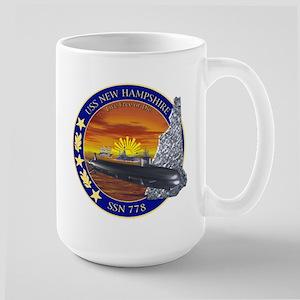 SSN 778 USS New Hampshire Large Mug