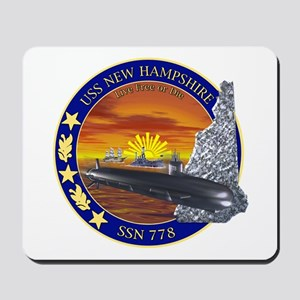 SSN 778 USS New Hampshire Mousepad