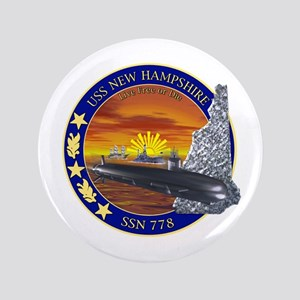 "SSN 778 USS New Hampshire 3.5"" Button"