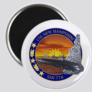 SSN 778 USS New Hampshire Magnet