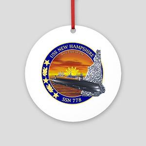 SSN 778 USS New Hampshire Ornament (Round)