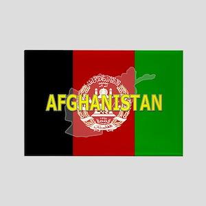 Afghanistan Flag Extra Rectangle Magnet