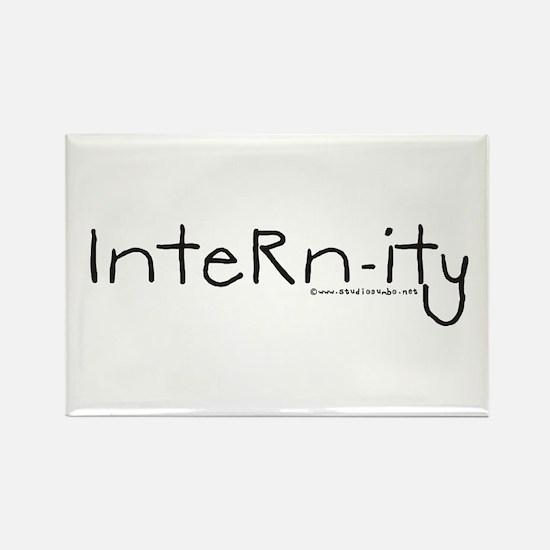 Internity - Doctor Intern Rectangle Magnet