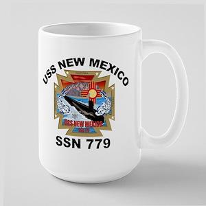 SSN 779 USS New Mexico Large Mug