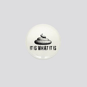 It Is What It Is Mini Button (10 pack)