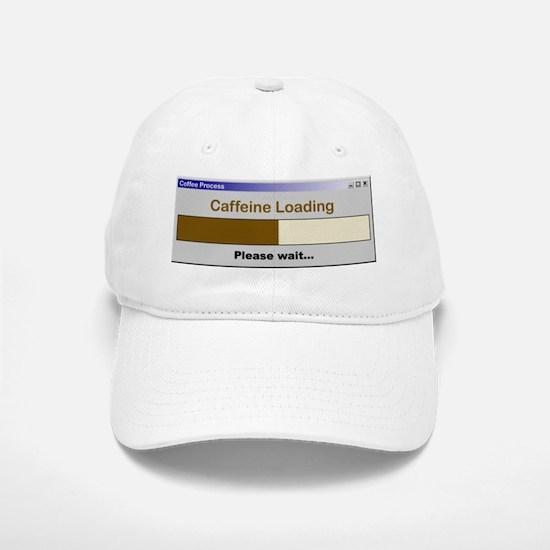 Caffeine Loading Please Wait Baseball Baseball Cap