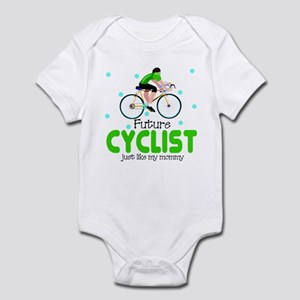 Future Cyclist like daddy Baby Infant Bodysuit
