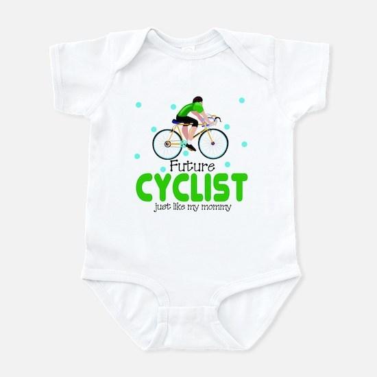 Future Cyclist like daddy Baby Infant Bodysuit