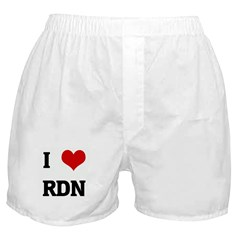 I Love RDN Boxer Shorts