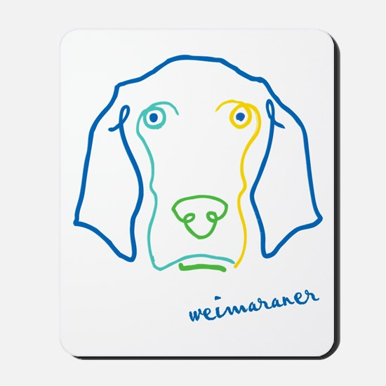 Picasso Weim! Mousepad